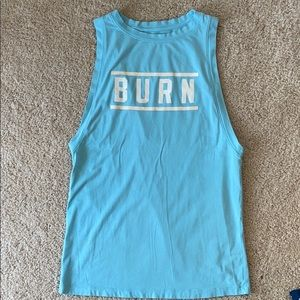 "Under Armour ""Burn"" muscle tank"